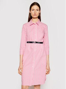 Joop! Joop! Sukienka koszulowa 58 Jd617 Dafina 30026446 Różowy Regular Fit