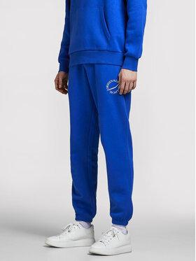 Jack&Jones Jack&Jones Pantaloni trening Elias 12195676 Albastru Comfort Fit