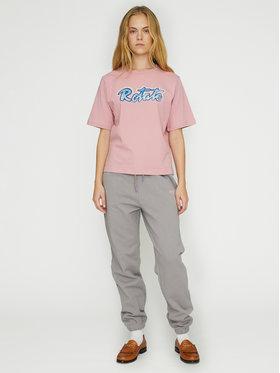 ROTATE ROTATE Spodnie dresowe Mimi RT473 Szary Loose Fit