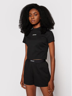 Calvin Klein Jeans Calvin Klein Jeans Блуза Milano J20J216113 Черен Slim Fit