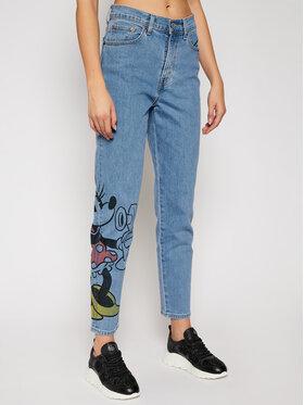 Levi's® Levi's® Boyfriend Jeans DISNEY Mickey & Friends A0619-0000 Blau Relaxed Fit