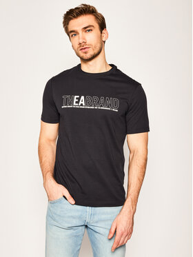 Emporio Armani Emporio Armani T-Shirt 3H1T91 1JNQZ 0922 Granatowy Regular Fit