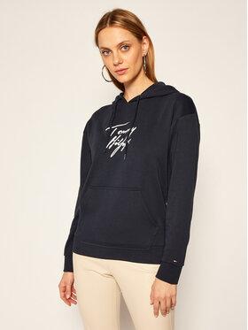TOMMY HILFIGER TOMMY HILFIGER Sweatshirt Lwk UW0UW03018 Dunkelblau Regular Fit