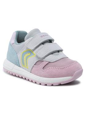 Geox Geox Sneakersy B Alben G. A B023ZA 02214 C0674 S Szary