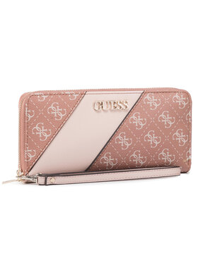 Guess Guess Portefeuille femme grand format Camy (SG) SLG SWSG77 41460 Marron