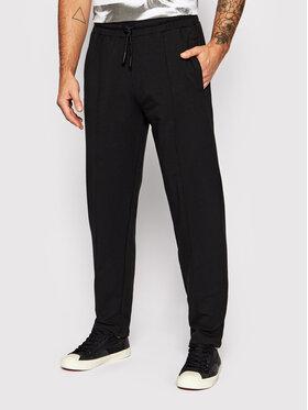 Guess Guess Teplákové kalhoty U1BB00 FL043 Černá Relaxed Fit