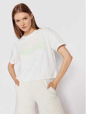 Sprandi Sprandi T-Shirt SS21-TSD008 Biały Regular Fit