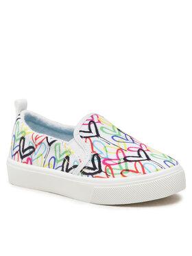 Skechers Skechers Πάνινα παπούτσια Drippin Love 314978L/WMLT Λευκό