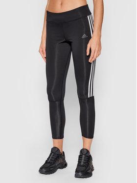 adidas adidas Legginsy Running 3-Stripes CZ8095 Czarny Skinny Fit