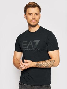 EA7 Emporio Armani EA7 Emporio Armani T-Shirt 6KPT62 PJ03Z 1578 Granatowy Regular Fit