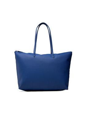 Lacoste Lacoste Torebka L Shopping Bag NF1888PO Granatowy