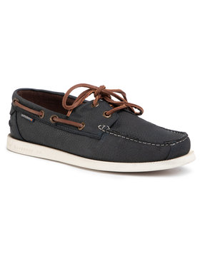 Superdry Superdry Mocassini Boat Shoe MF110030A Blu scuro