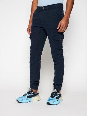 Guess Guess Jogger kelnės New Kombat M1RB17 WDP31 Tamsiai mėlyna Slim Fit