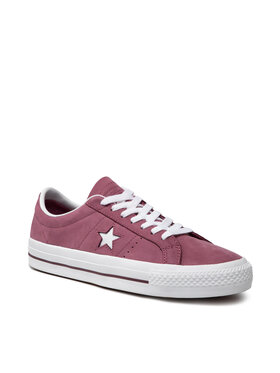 Converse Converse Sneakers aus Stoff One Star Pro Ox 160536C Dunkelrot