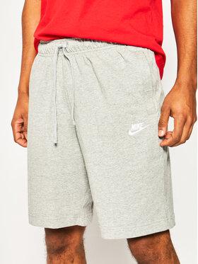 NIKE NIKE Sportovní kraťasy Sportswear Club Fleece BV2772 Šedá Standard Fit