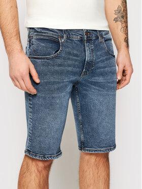 Wrangler Wrangler Szorty jeansowe Colton W15VJP251 Granatowy Regular Fit