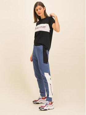 Tommy Sport Tommy Sport Spodnie dresowe Dwr Fleece S10S100400 Niebieski Regular Fit
