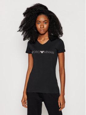 Emporio Armani Underwear Emporio Armani Underwear Tricou 163321 1P227 00020 Negru Regular Fit