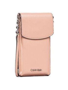 Calvin Klein Calvin Klein Pouzdro na mobil Phone Pouch Crossobdy K60K607168 Růžová