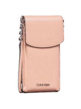 Calvin Klein Calvin Klein Puzdro na telefón Phone Pouch Crossobdy K60K607168 Ružová