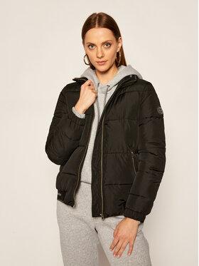 Calvin Klein Calvin Klein Vatovaná bunda Logo K20K202054 Čierna Regular Fit