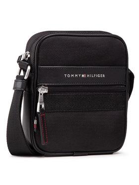 Tommy Hilfiger Tommy Hilfiger Válltáska Elevated Nylon Mini Reporter AM0AM07232 Fekete