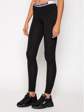 Dsquared2 Underwear Dsquared2 Underwear Leggings D8LM03230 Nero Slim Fit