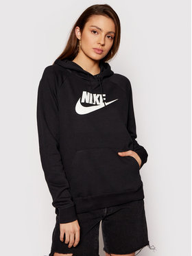 Nike Nike Mikina Sportswear Essential BV4126 Černá Standard Fit