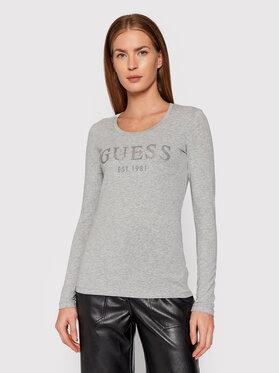 Guess Guess Bluse Izaga W1BI03 J1311 Grau Regular Fit