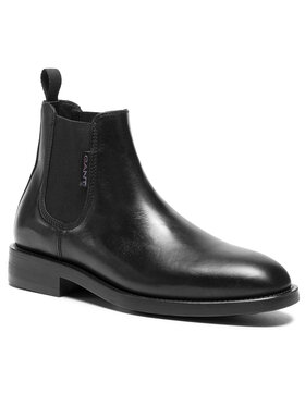 Gant Gant Členková obuv s elastickým prvkom Brockwill 21651009 Čierna