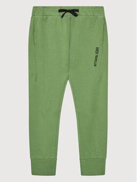 United Colors Of Benetton United Colors Of Benetton Spodnie dresowe 3J74I0492 Zielony Regular Fit