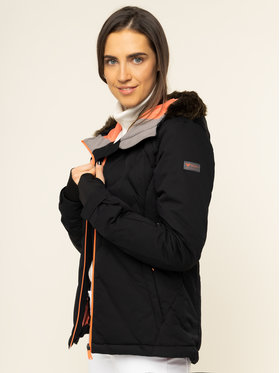 Roxy Roxy Kurtka narciarska Breeze ERJTJ03211 Czarny Slim Fit