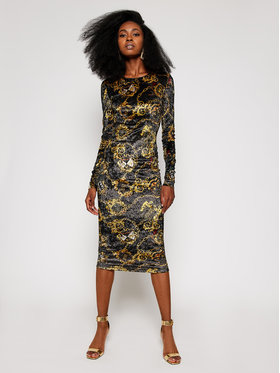 Versace Jeans Couture Versace Jeans Couture Φόρεμα υφασμάτινο D2HZB426 Έγχρωμο Regular Fit