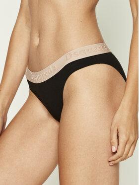 Dsquared2 Underwear Dsquared2 Underwear Класически дамски бикини D8L643170 Черен