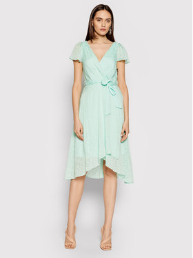 DKNY DKNY Kleid für den Alltag DD1BD154 Grün Regular Fit