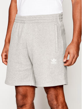 adidas adidas Pantaloncini sportivi Trefoil Essentials GD2555 Grigio Standart Fit