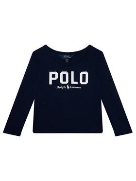 Polo Ralph Lauren Polo Ralph Lauren Bluză Icon Tee 313806102001 Bleumarin Regular Fit