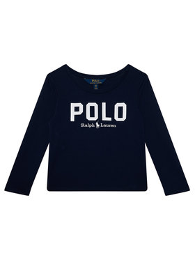 Polo Ralph Lauren Polo Ralph Lauren Блуза Icon Tee 313806102001 Тъмносин Regular Fit