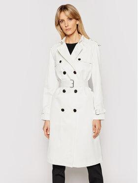 Calvin Klein Calvin Klein Tenchcoat K20K202895 Weiß Regular Fit