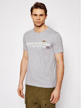 Aeronautica Militare Aeronautica Militare T-shirt 211TS1850J511 Gris Regular Fit