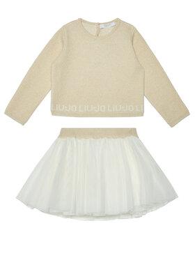 Liu Jo Kids Liu Jo Kids Σετ μπλουζάκι και φούστα HF0023 MA88I Έγχρωμο Regular Fit