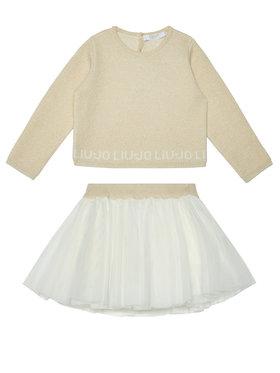 Liu Jo Kids Liu Jo Kids Souprava halenka a sukně HF0023 MA88I Barevná Regular Fit