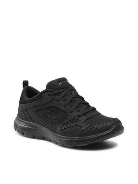 Skechers Skechers Обувки Suited 12982/BBK Черен