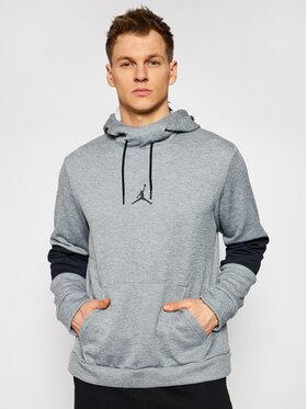 Nike Nike Felpa Jordan Air Therma CK6789 Grigio Standard Fit