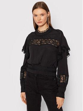 IRO IRO Блуза Claw AP541 Черен Regular Fit
