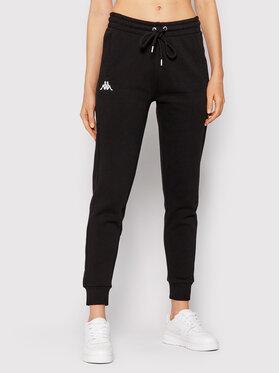 Kappa Kappa Teplákové kalhoty Zella 708278 Černá Slim Fit