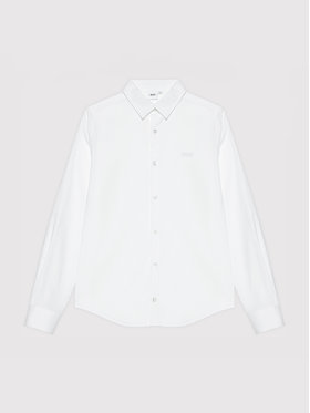 Boss Boss Πουκάμισο J25N22 D Λευκό Regular Fit