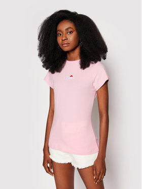 Ellesse Ellesse T-shirt Ci SGJ11885 Ružičasta Slim Fit