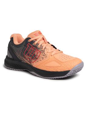 Wilson Wilson Обувки Kaos Comp 2.0 WRS326190 Оранжев
