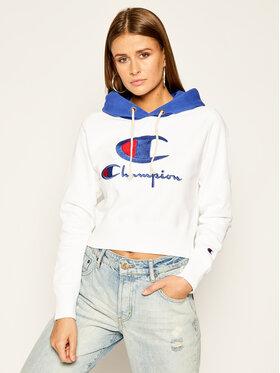Champion Champion Bluză 112534 WW001 Alb Regular Fit